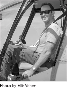 Philip Greenspun is a helicopter instructor in Boston, USA Photo Credit:Ellis Vener
