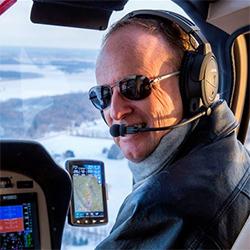 Rotors and Ribs Fly-in organiser Randy Sharkey