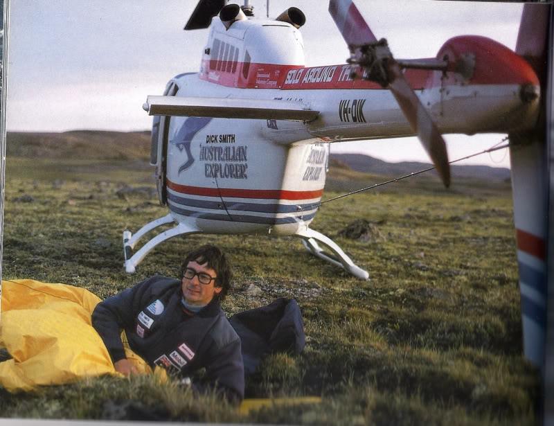 Grabbing some 'crew rest' on way around the world.
