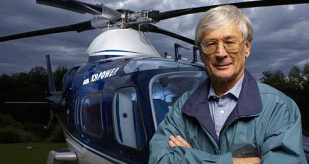 Dick is still a frequent flyer getting behind the controls of several fixed and rotary wing types to get around Australia.