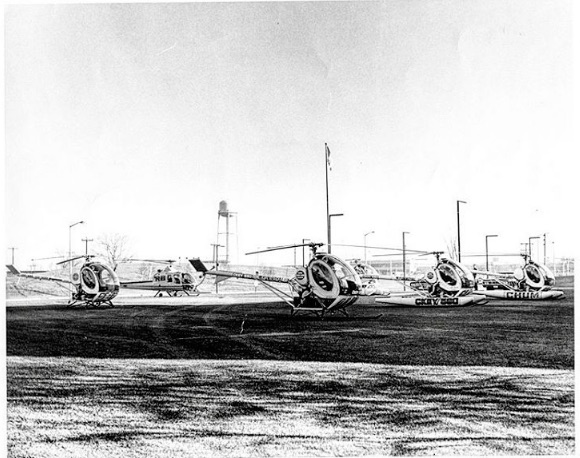 The radio stations in Toronto were each operating their own helicopters to cover traffic news.